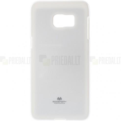 Samsung Galaxy S6 Edge+ Plus (G928) Mercury baltas kieto silikono tpu dėklas - nugarėlė