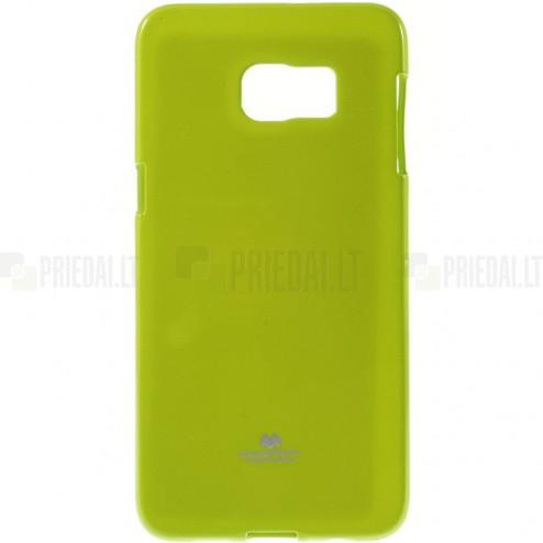 Samsung Galaxy S6 Edge+ Plus (G928) Mercury žalias kieto silikono tpu dėklas - nugarėlė