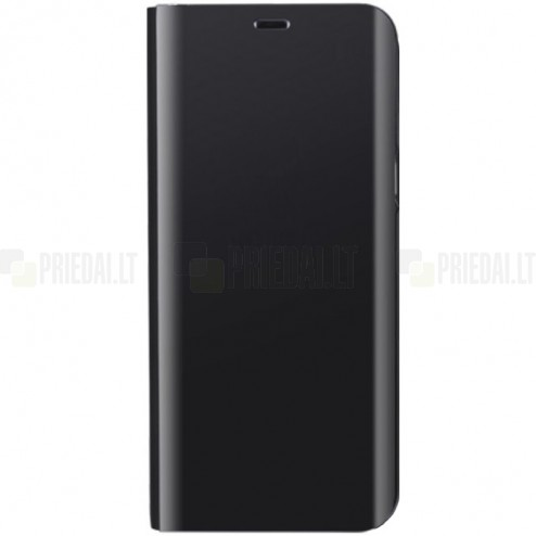 Samsung Galaxy S9 (G960) plastikinis atverčiamas juodas dėklas