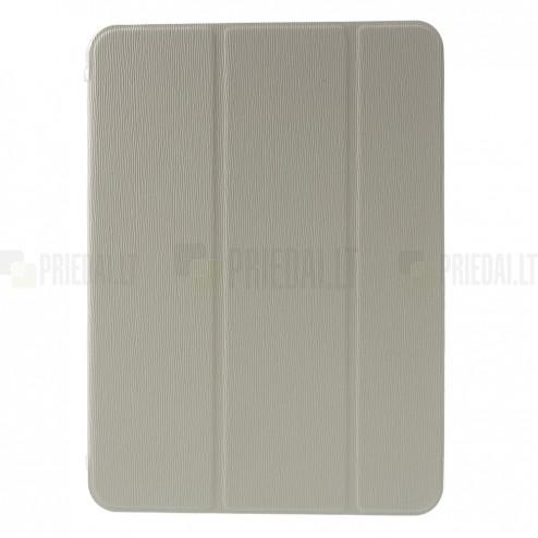 Samsung Galaxy Tab 4 10.1 T535 (T530, T531) atverčiamas pastatomas baltas dėklas