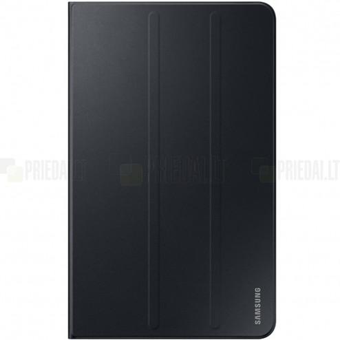 Originalus Samsung Galaxy Tab A 10,1 2016 (T585, T580) Book Cover EF-BT580 atverčiamas juodas odinis dėklas