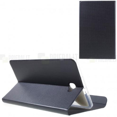 Samsung Galaxy Tab A 10,1 2016 (T580, T585) Smart Case atverčiamas mėlynas odinis dėklas - knygutė