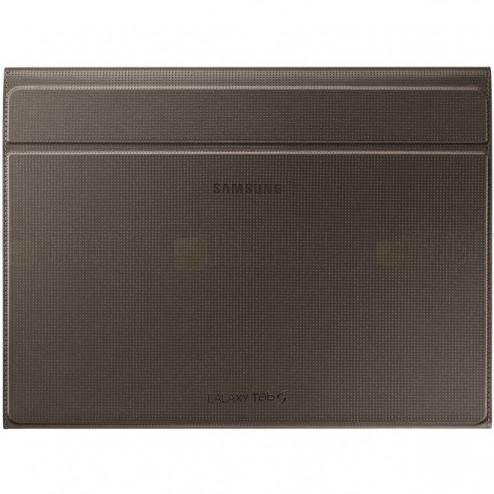 Originalus Samsung Galaxy Tab S 10.5 (T805, T800) Book Cover atverčiamas bronzinis odinis dėklas