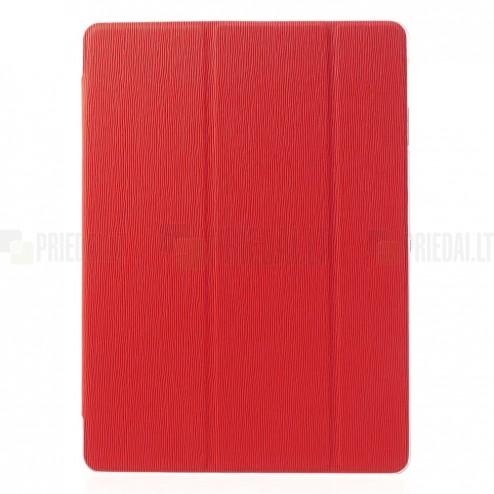Samsung Galaxy Tab 4 10.1 T535 (T530, T531) atverčiamas pastatomas raudonas dėklas