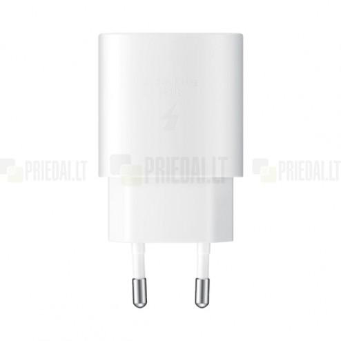 "Originalus ""Samsung"" Super Fast Charging 25W EP-TA800 įkroviklis - baltas"