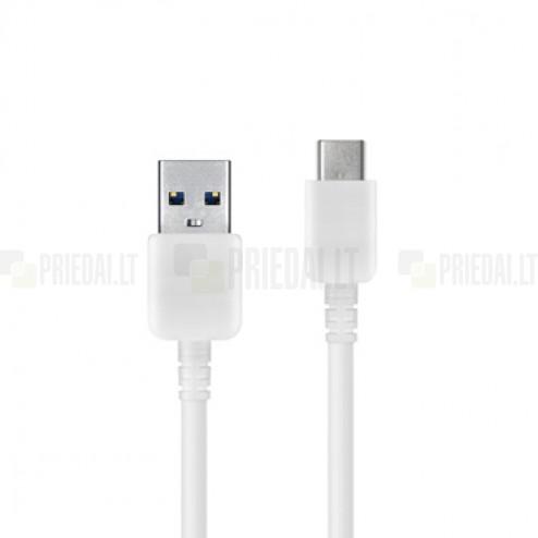 Oficialus Samsung Type-C USB baltas laidas 1,5 m (EP-DW700CWE, originalus)