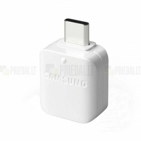 """Samsung"" Type-C OTG GH98-40216A adapteris baltas"