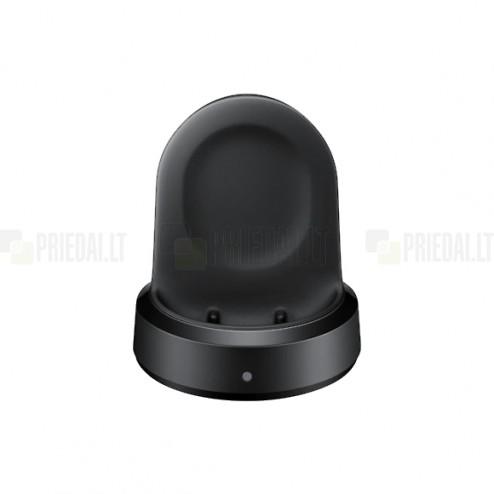 """Originalus """"Samsung"""" Wireless Charging Dock EP-YO805 belaidis laikrodžio įkroviklis (dokas) - juodas"""