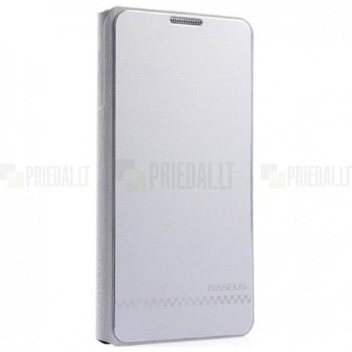 """Prabangus """"Baseus Business"""" sidabrinis Samsung Galaxy Note 3 dėklas"""