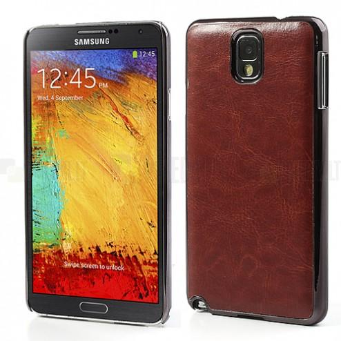 """""""Crazy Horse"""" odinis rudas Samsung Galaxy Note 3 N9005 dėklas (dėkliukas, nugarėlė)"""