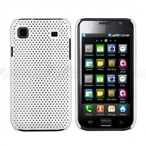 Tinklelio formos baltas Samsung Galaxy S i9000 dėklas (dėkliukas)