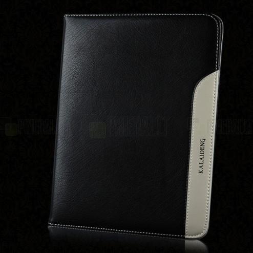 """""""Kalaideng"""" Plume serijos odinis juodas Samsung Galaxy Tab 3 10.1 dėklas"""