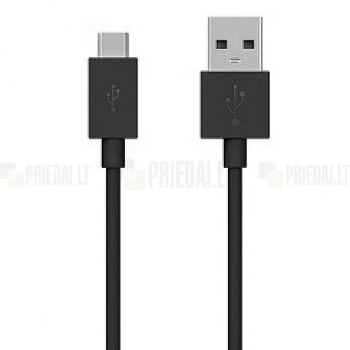 Sony Type-C USB juodas laidas 1 m. (originalus) UCB20