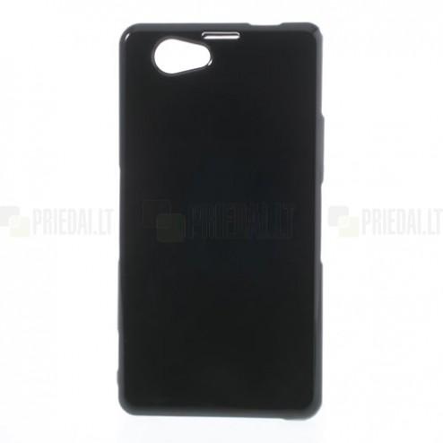 Juodas Sony Xperia Z1 compact TPU dėklas