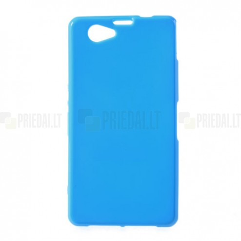 Mėlynas Sony Xperia Z1 compact TPU dėklas