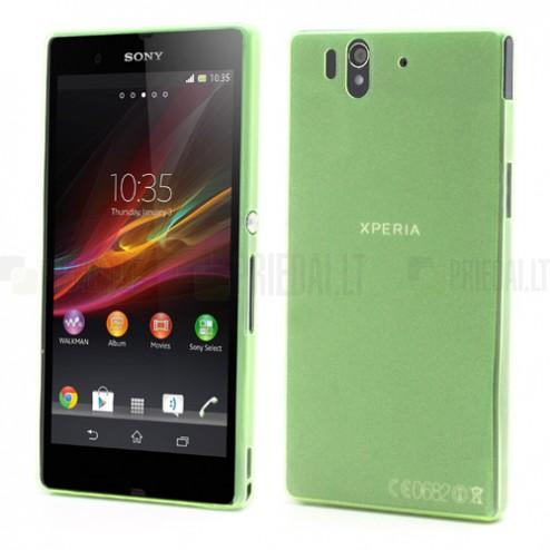 Ploniausias pasaulyje Sony Xperia Z žalias dėklas