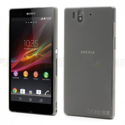 Ploniausias pasaulyje Sony Xperia Z pilkas dėklas