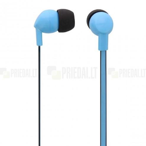 """""""T'nB"""" Be Color mėlynos įkišamos į ausis ausinės (laisvų rankų įranga)"""