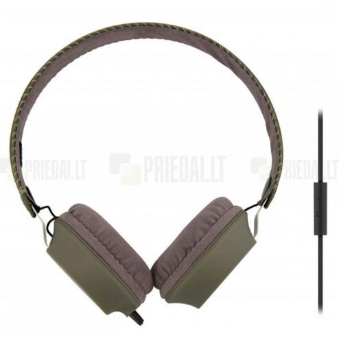 """""""TnB"""" Legend žalios ausinės su lankeliu (laisvų rankų įranga)"""