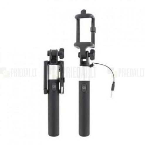 """""""T'nB"""" teleskopinė asmenukių (selfie) sidabrinė fotogravimo lazda (laikiklis) - monopod"""