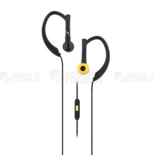 """""""T'nB"""" Sport juodos įkišamos į ausis ausinės (laisvų rankų įranga)"""