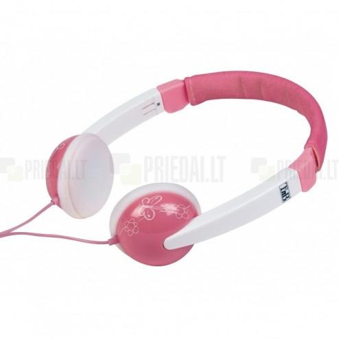 """""""T'nB"""" Kids Sound rožinės ausinės su lankeliu vaikams"""