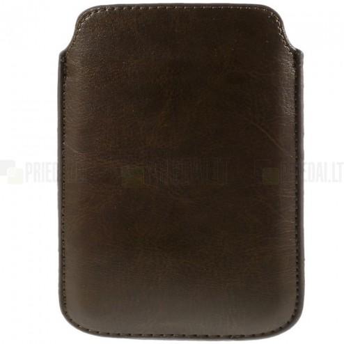 Universali ruda odinė įmautė - dėklas