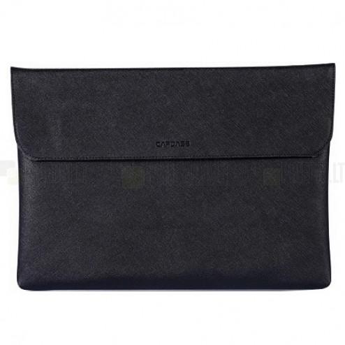Capdase Universali įmautė, atverčiamas odinis juodas dėklas kompiuterinėms 10 colių planšetėms