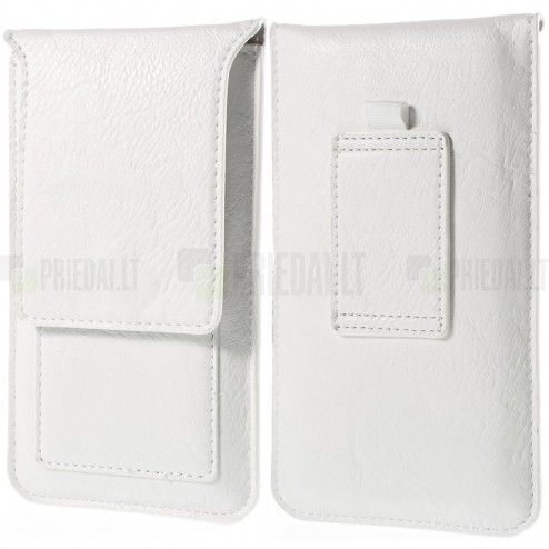 Universali balta vertikali odinė įmautė (L+ dydis)