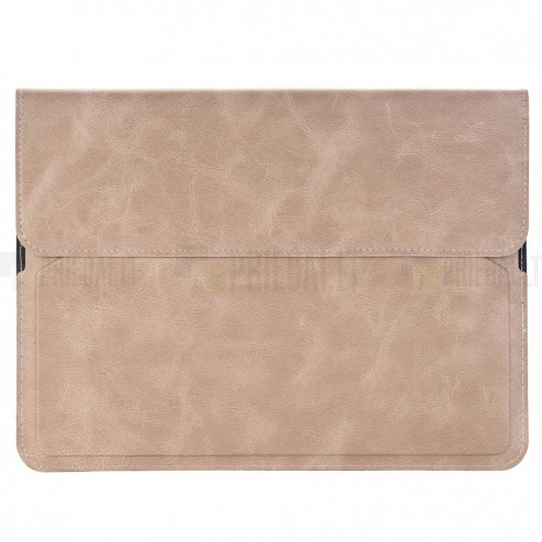 Universali šviesiai smėlio spalvos odinė kompiuterinės planšetės įmautė, vokas, 9.7 colių planšetėms