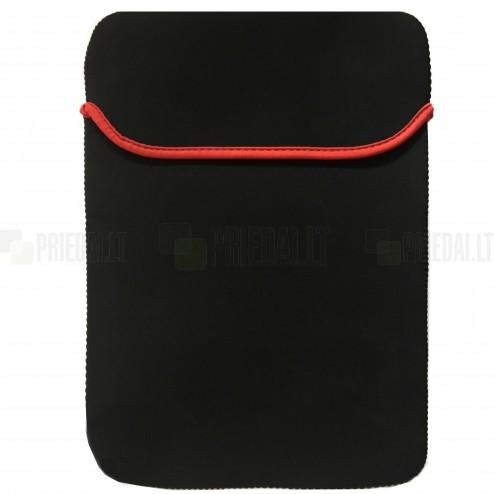 Universali įmautė, juodas dėklas kompiuterinėms 12.9 colių planšetėms