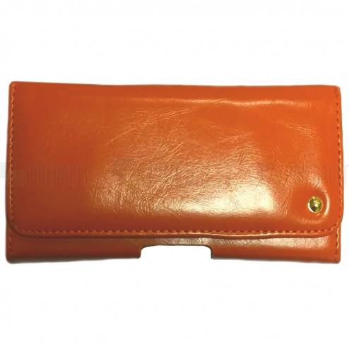 """""""Elegant """" universali rudas odinis dėklas prie diržo (XL dydis)"""