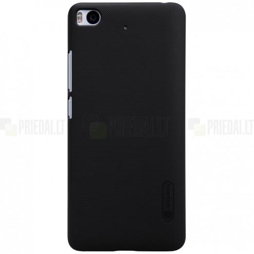 Xiaomi Mi Xiaomi Mi 5S Nillkin Frosted Shield juodas plastikinis dėklas + apsauginė ekrano plėvelė Nillkin Frosted Shield juodas plastikinis dėklas + apsauginė ekrano plėvelė