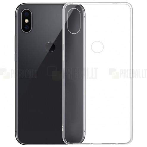 Xiaomi Redmi Note 5 2018 (Redmi Note 5 Pro) skaidrus (permatomas) silikoninis TPU ploniausias pasaulyje bespalvis dėklas