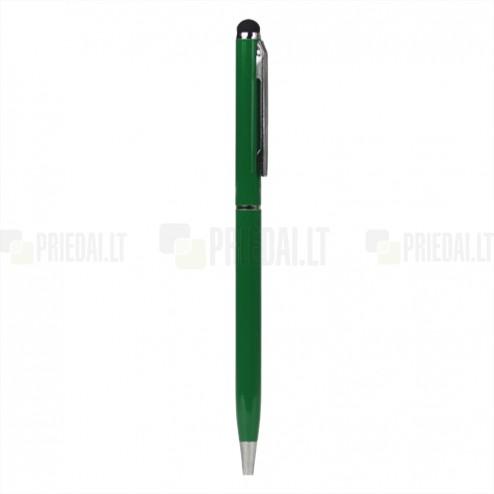 Žalias liestukas su integruotu rašikliu (angl. Stylus Pen)
