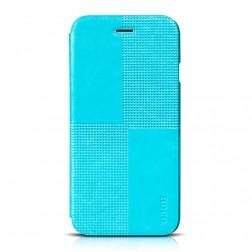"""""""HOCO"""" Crystal Fashion atverčiamas dėklas - mėlynas (iPhone 6 / 6s)"""