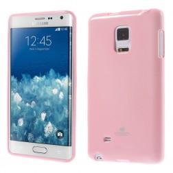 """""""Mercury"""" dėklas - rožinis (Galaxy Note Edge)"""