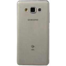 Ploniausias TPU skaidrus dėklas - pilkas (Galaxy A5 2015)
