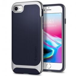 """Spigen"" Neo Hybrid Herringbone dėklas - mėlynas (iPhone 7 / 8 / SE 2020)"