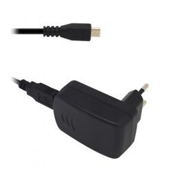 """""""Alcatel"""" sieninis įkroviklis (1 A) - juodas + micro USB laidas"""