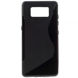 Silikoninis (TPU) dėklas - juodas (Galaxy S8)