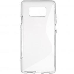 Silikoninis (TPU) dėklas - pilkas (Galaxy S8+)