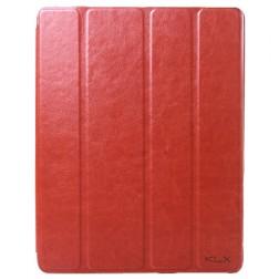 """""""Kalaideng"""" Enland atverčiamas dėklas - rudas (iPad 2 / 3 / 4)"""