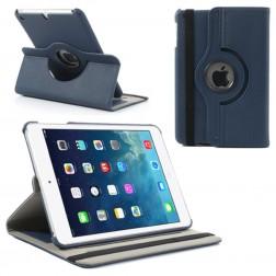 Atverčiamas dėklas (360°) - tamsiai mėlynas (iPad Mini 1 / 2 / 3)