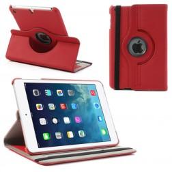 Atverčiamas dėklas (360°) - raudonas (iPad Mini 1 / 2 / 3)