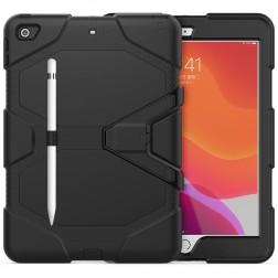 Sustiprintos apsaugos dėklas - juodas (iPad 10.2)