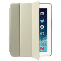 Klasikinis atverčiamas dėklas - smėlio spalvos (iPad 2 / 3 / 4)