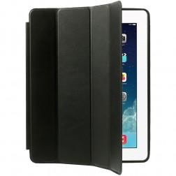 Klasikinis atverčiamas dėklas - juodas (iPad 2 / 3 / 4)