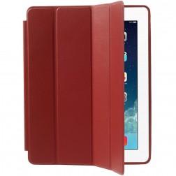 Klasikinis atverčiamas dėklas - raudonas (iPad 2 / 3 / 4)