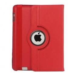 Atverčiamas dėklas (360°) - raudonas (iPad 2 / 3 / 4)